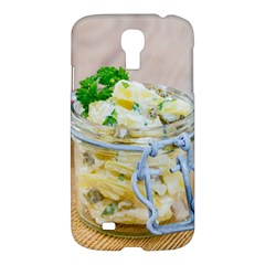 Potato Salad In A Jar On Wooden Samsung Galaxy S4 I9500/i9505 Hardshell Case by wsfcow