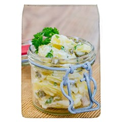 Potato Salad In A Jar On Wooden Flap Covers (l)  by wsfcow
