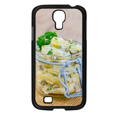 Potato salad in a jar on wooden Samsung Galaxy S4 I9500/ I9505 Case (Black)