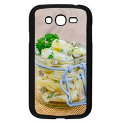 Potato Salad In A Jar On Wooden Samsung Galaxy Grand Duos I9082 Case (black) by wsfcow
