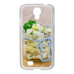 Potato salad in a jar on wooden Samsung GALAXY S4 I9500/ I9505 Case (White) Front