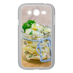 Potato Salad In A Jar On Wooden Samsung Galaxy Grand Duos I9082 Case (white) by wsfcow