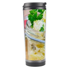 Potato Salad In A Jar On Wooden Travel Tumbler by wsfcow
