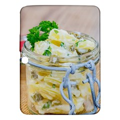 Potato salad in a jar on wooden Samsung Galaxy Tab 3 (10.1 ) P5200 Hardshell Case