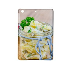 Potato salad in a jar on wooden iPad Mini 2 Hardshell Cases