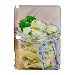 Potato Salad In A Jar On Wooden Samsung Galaxy Note 10 1 (p600) Hardshell Case by wsfcow