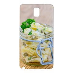 Potato salad in a jar on wooden Samsung Galaxy Note 3 N9005 Hardshell Back Case