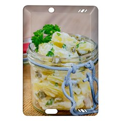 Potato Salad In A Jar On Wooden Amazon Kindle Fire Hd (2013) Hardshell Case