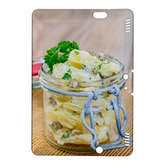 Potato Salad In A Jar On Wooden Kindle Fire Hdx 8 9  Hardshell Case