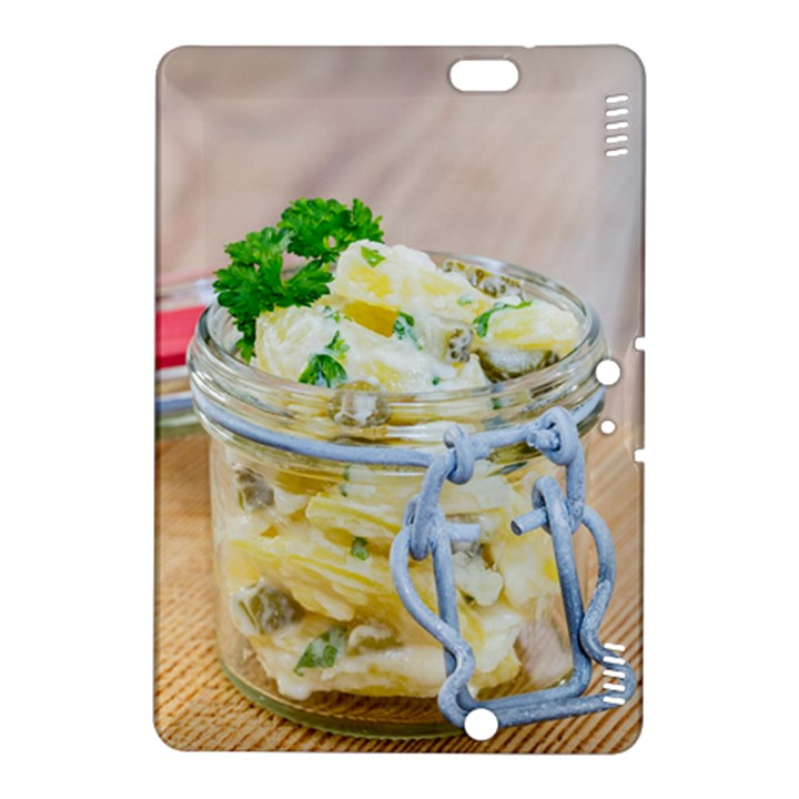 Potato salad in a jar on wooden Kindle Fire HDX 8.9  Hardshell Case