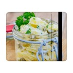 Potato salad in a jar on wooden Samsung Galaxy Tab Pro 8.4  Flip Case Front