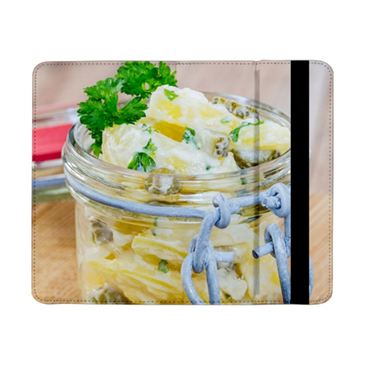 Potato salad in a jar on wooden Samsung Galaxy Tab Pro 8.4  Flip Case