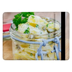 Potato Salad In A Jar On Wooden Samsung Galaxy Tab Pro 12 2  Flip Case