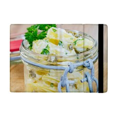 Potato salad in a jar on wooden iPad Mini 2 Flip Cases