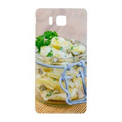 Potato salad in a jar on wooden Samsung Galaxy Alpha Hardshell Back Case