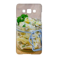 Potato Salad In A Jar On Wooden Samsung Galaxy A5 Hardshell Case