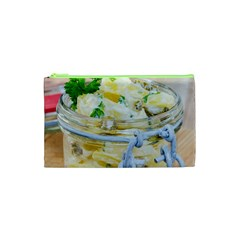 Potato Salad In A Jar On Wooden Cosmetic Bag (xs) by wsfcow