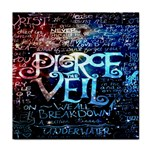 Pierce The Veil Quote Galaxy Nebula Tile Coasters