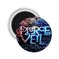 Pierce The Veil Quote Galaxy Nebula 2 25  Magnets by Onesevenart