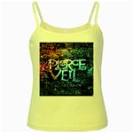Pierce The Veil Quote Galaxy Nebula Yellow Spaghetti Tank