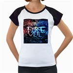 Pierce The Veil Quote Galaxy Nebula Women s Cap Sleeve T