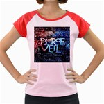 Pierce The Veil Quote Galaxy Nebula Women s Cap Sleeve T-Shirt