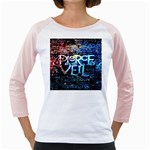 Pierce The Veil Quote Galaxy Nebula Girly Raglans
