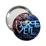 Pierce The Veil Quote Galaxy Nebula 2.25  Handbag Mirrors