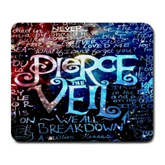 Pierce The Veil Quote Galaxy Nebula Large Mousepads by Onesevenart