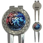 Pierce The Veil Quote Galaxy Nebula 3-in-1 Golf Divots
