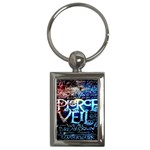 Pierce The Veil Quote Galaxy Nebula Key Chains (Rectangle)
