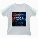 Pierce The Veil Quote Galaxy Nebula Kids White T-Shirts
