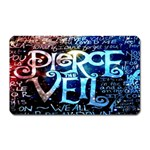 Pierce The Veil Quote Galaxy Nebula Magnet (Rectangular)
