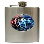 Pierce The Veil Quote Galaxy Nebula Hip Flask (6 oz)