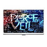 Pierce The Veil Quote Galaxy Nebula Business Card Holders