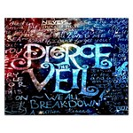 Pierce The Veil Quote Galaxy Nebula Rectangular Jigsaw Puzzl