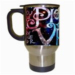 Pierce The Veil Quote Galaxy Nebula Travel Mugs (White)