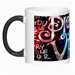 Pierce The Veil Quote Galaxy Nebula Morph Mugs