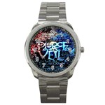 Pierce The Veil Quote Galaxy Nebula Sport Metal Watch