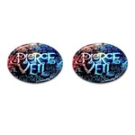 Pierce The Veil Quote Galaxy Nebula Cufflinks (Oval)