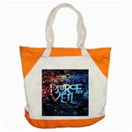 Pierce The Veil Quote Galaxy Nebula Accent Tote Bag