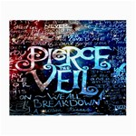 Pierce The Veil Quote Galaxy Nebula Small Glasses Cloth (2-Side)