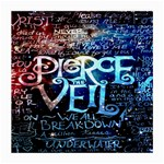 Pierce The Veil Quote Galaxy Nebula Medium Glasses Cloth