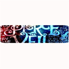 Pierce The Veil Quote Galaxy Nebula Large Bar Mats by Onesevenart