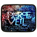 Pierce The Veil Quote Galaxy Nebula Netbook Case (Large)