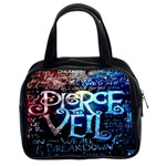 Pierce The Veil Quote Galaxy Nebula Classic Handbags (2 Sides)