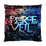Pierce The Veil Quote Galaxy Nebula Standard Cushion Case (One Side)