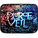 Pierce The Veil Quote Galaxy Nebula Double Sided Fleece Blanket (Mini)