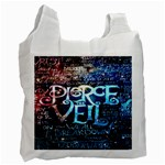 Pierce The Veil Quote Galaxy Nebula Recycle Bag (Two Side)