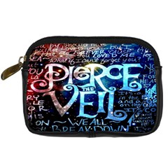 Pierce The Veil Quote Galaxy Nebula Digital Camera Cases by Onesevenart